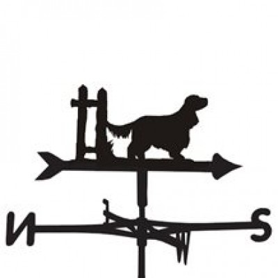 English Cocker Spaniel Weathervane