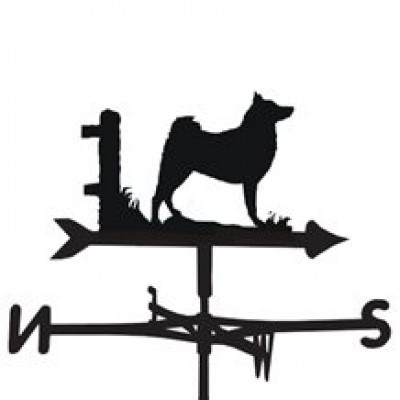 Finnish Spitz Weathervane