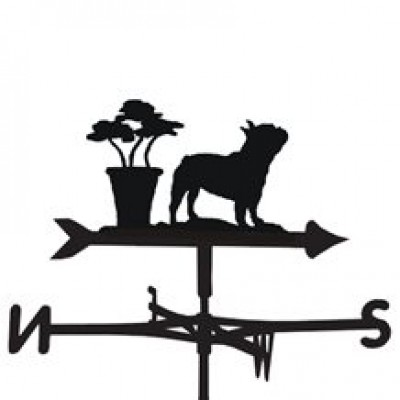 French Bulldog Weathervane