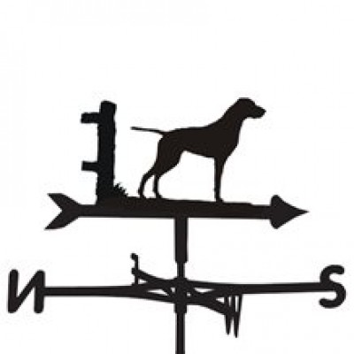 German Pointer Smooth Coat Weathervane