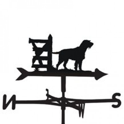 German Wire Pointer Weathervane