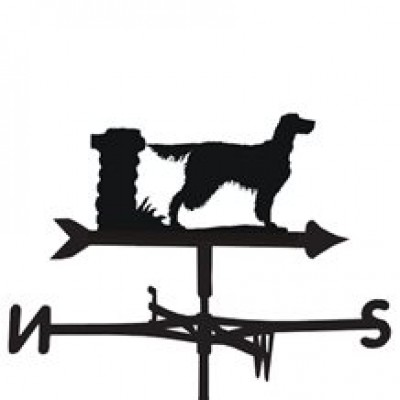 Golden Setter Weathervane