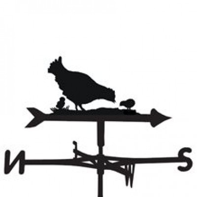 Hen and Chicks Weathervane