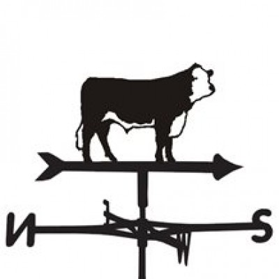 Hereford Cow Weathervane