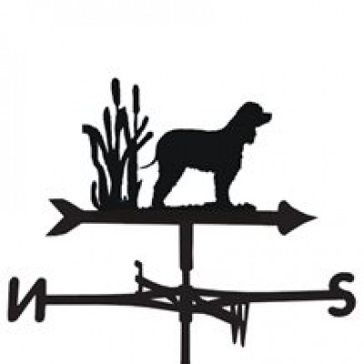 Irish Water Spaniel Weathervane