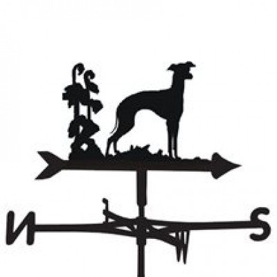 Italian Greyhound Weathervane
