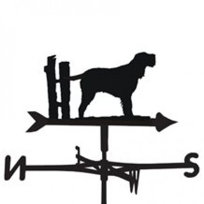 italian Spinone Weathervane