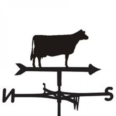 Jersey Cow Weathervane