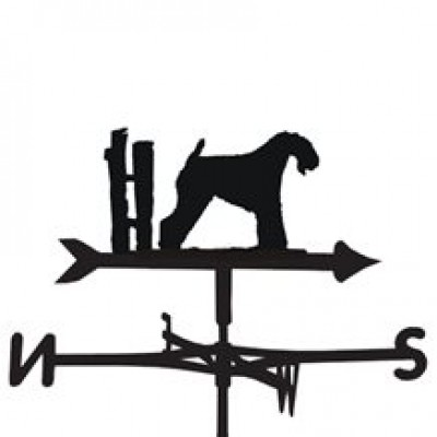 Kerry Blue Terrier Weathervane