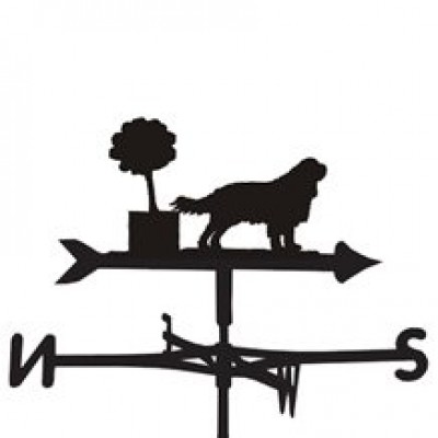 King Charles Spaniel Weathervane