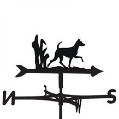 Minature Pinscher Weathervane