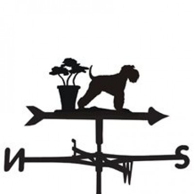 Minature Schnauzer Weathervane