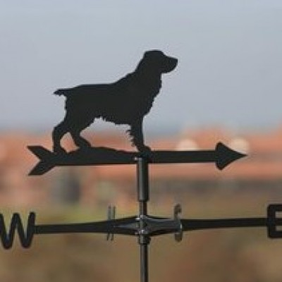 Field Spaniel Cottage Weathervane