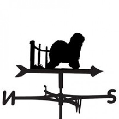 Old English Sheepdog Weathervane