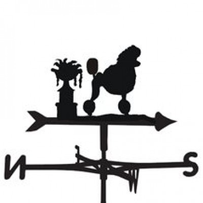 Poddle Show Cut Weathervane