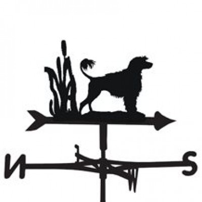 Portugese Water Dog Weathervane