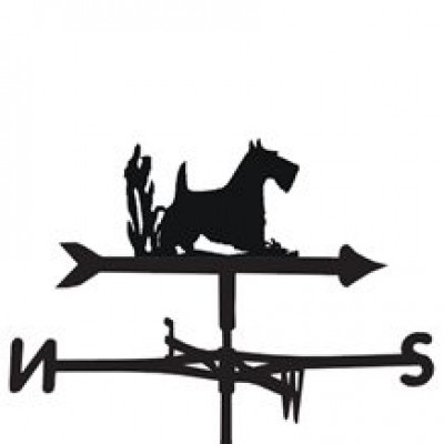 Scottish Terrier Weathervane