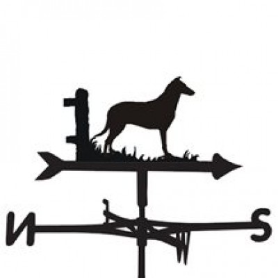 Smooth Collie Weathervane