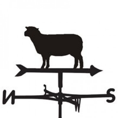 Southdown Sheep Weathervane