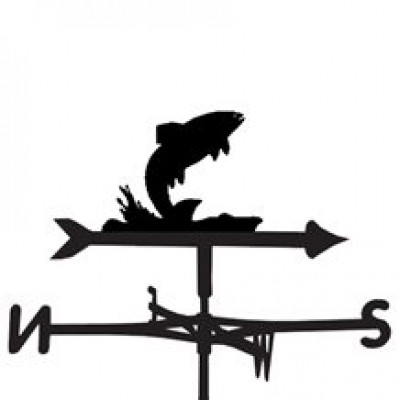 Jumping FIsh Weathervane