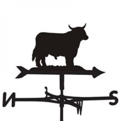 The Boss Bull Weathervane