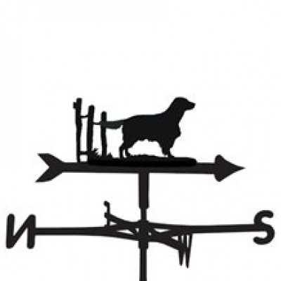 Welsh Springer Spaniel Weathervane