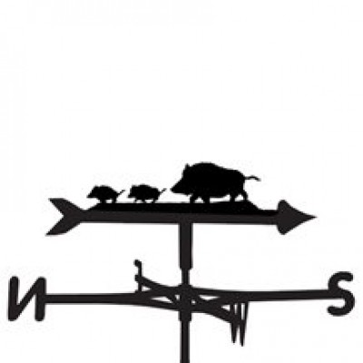 Wild Boar Weathervane
