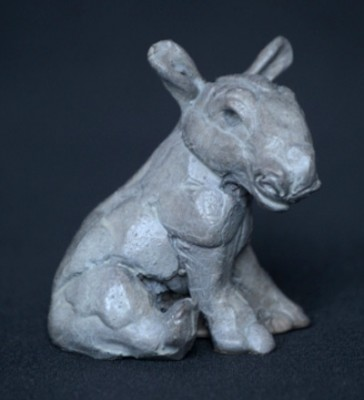 """""""Baby Rhino"""" Bronze, Limited Edition: 150, 80 mm Wide"""