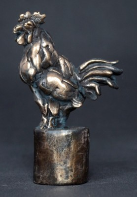 """Cockerel"" Bronze, Limited Edition: 150, 120 mm High"