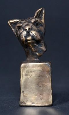 """French Bulldog"" Bronze, Limited Edition: 150, 90 mm High"