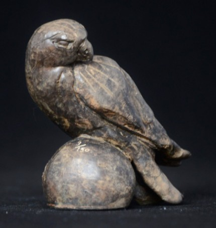 """Hawk"" Bronze, Limited Edition: 150, 9 x 9 x 6 cm"