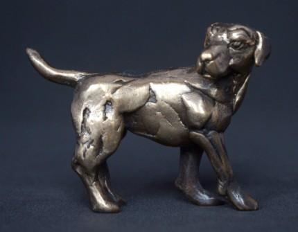 """""""Hound"""" Bronze, Limited Edition: 150, 80 mm Wide"""