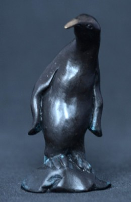 """""""Penguin"""" Bronze, Limited Edition: 150, 100 mm High"""