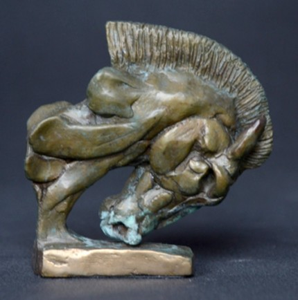 """""""Roman Horse"""" Bronze, Limited Edition: 150, 90 mm Wide"""
