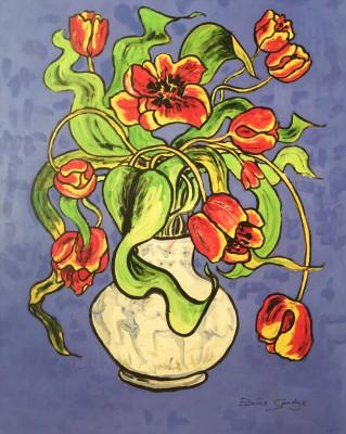 """Edwina Sandys """"Dancing Tulips"""""""