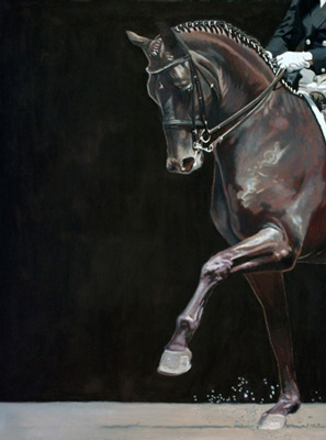 """""""Step"""" Oil on canvas, 48 x 36 inches, 2012"""