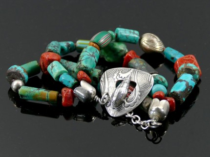 """Ocean Inspiration Bracelet"" Overall length: 8"", Price: $329, Chisholm Ref. #: SB-111 