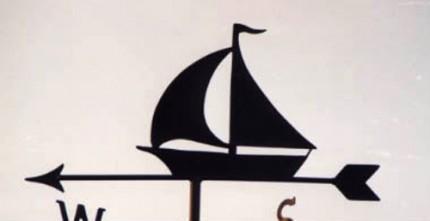 """Simple Yacht Weathervane"""