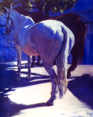 """""""Legend"""" 2015, Oil on Canvas, 20 x 16 inches, Signed & Dated 