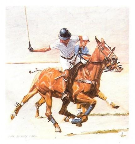 """Polo II"" Limited edition print"