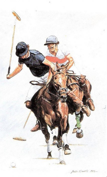 """""""Polo IV"""" Limited edition print"""