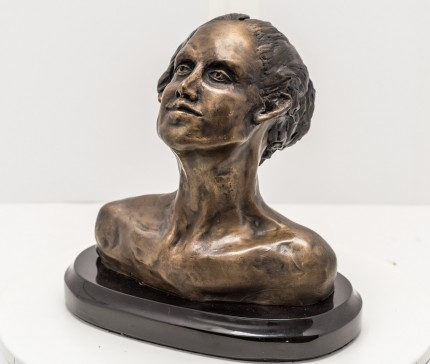 """Bust I"" Bronze, Numbered, Signed & Dated"