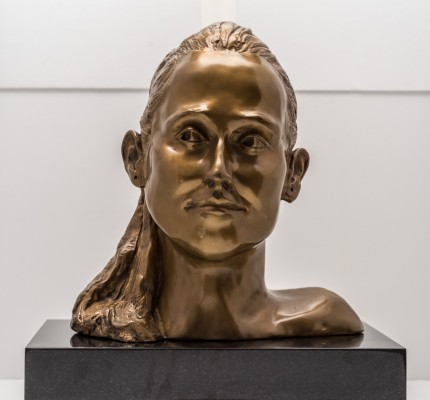 """Bust II"" Bronze, Numbered, Signed & Dated"