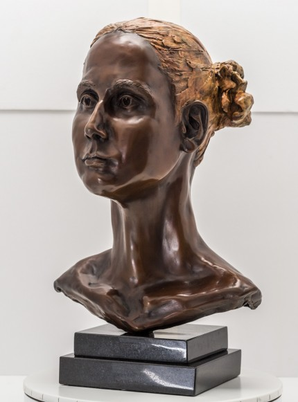 """Bust III"" Bronze, Numbered, Signed & Dated"