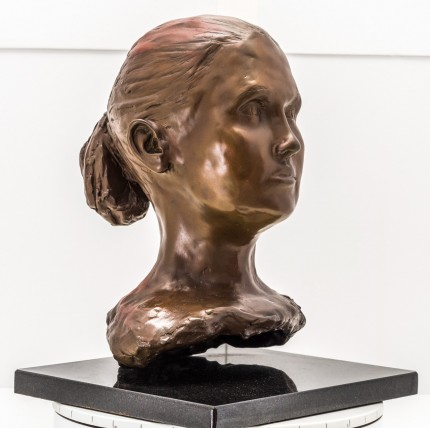 """Bust V"" Bronze, Numbered, Signed & Dated"