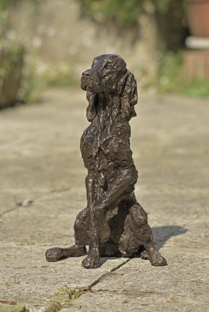 """Iris"" Irish Setter, Bronze resin, 16 x 10 x 10 inches"