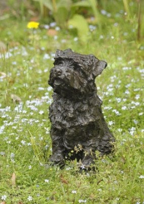 """Bramble"" Norfolk Terrier, Bronze resin, undefined"