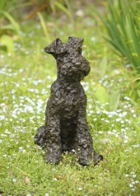 """Parsley"" Welsh Terrier, Bronze resin, undefined"
