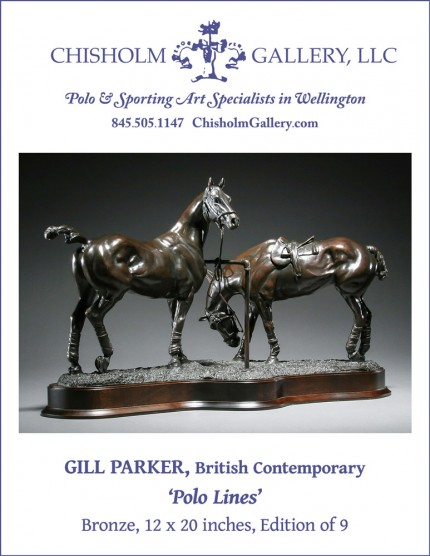 "Gill Parker ""Polo Lines"""