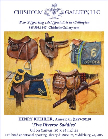 "Henry Koehler ""Five Diverse Saddles"""